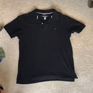 Nautica Black Polo Shirt